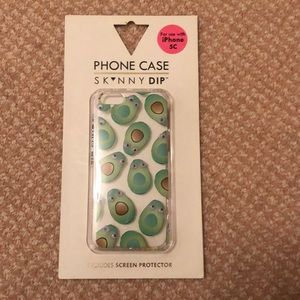 IPHONE 5c skinny dip avocado phone case 🥑